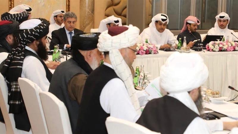 مذاکرات امریکا طالبان در قطر