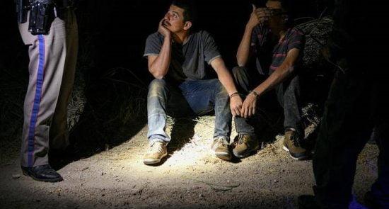 مهاجرین امریکا 10 550x295 - آمار عجیب از شمار مهاجرین بازداشت شده توسط مأموران سرحدی ایالات متحده امریکا