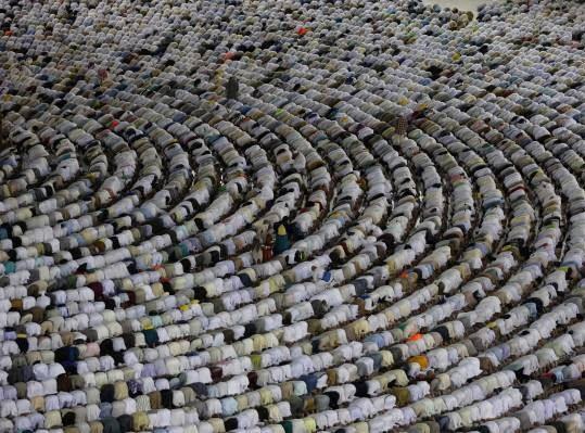 مکه6 - تصاویری زیبا از حضور حاجیان در مکه