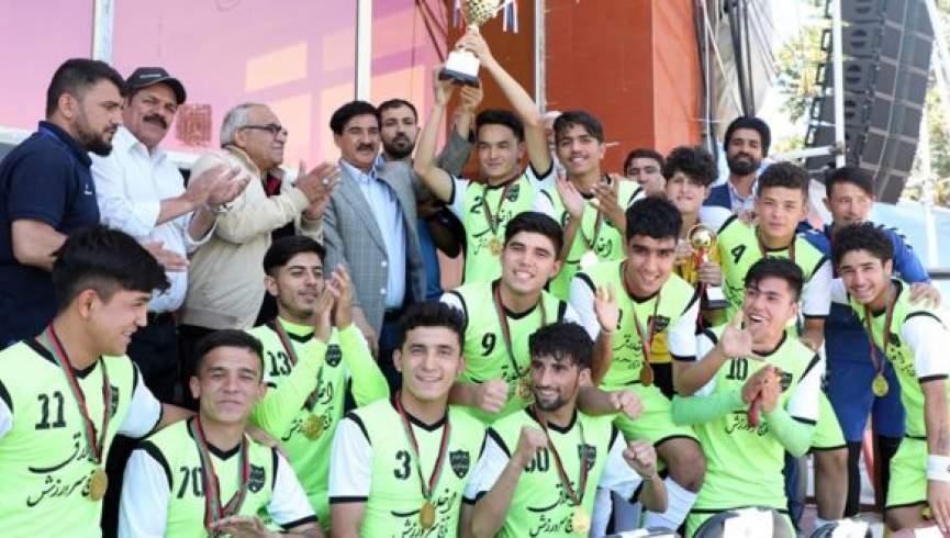 میوند - قهرمانی تیم فوتبال میوند در لیگ 18 سال کابل
