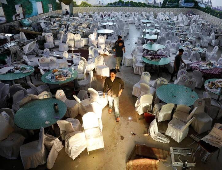 هوتل شهر دوبی - بازیگران اصلی، مختل کننده آینده افغانستان