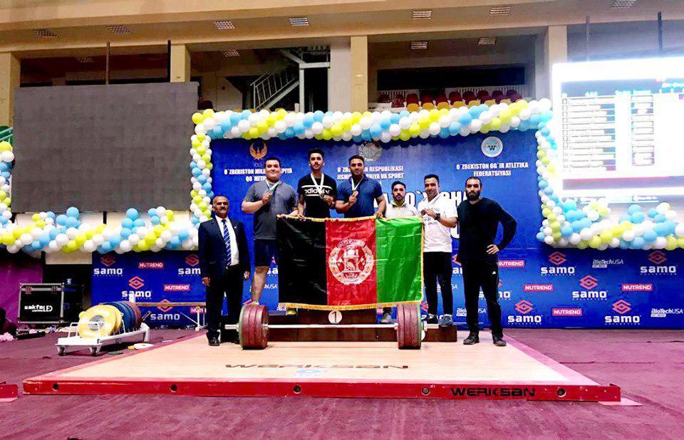 وزنهبرداری 1 - درخشش افغانستان در رقابتهای بینالمللی وزنهبرداری