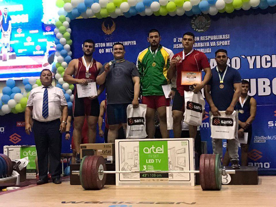 وزنهبرداری 3 - درخشش افغانستان در رقابتهای بینالمللی وزنهبرداری