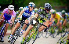 ویدیو تصادف عجیب بایسکل مسابقه 226x145 - ویدیو/ تصادف عجیب بایسکل سوار در مسابقه