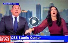 ویدیو وحشت زن شبکه خبری زلزله 226x145 - ویدیو/ وحشت مجری زن یک شبکه خبری هنگام وقوع زلزله