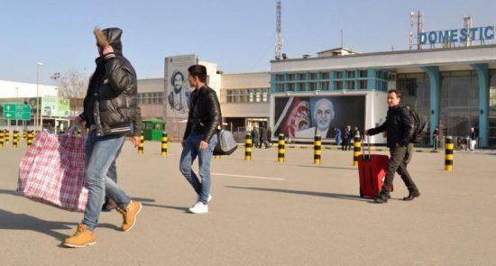 پناهجو 550x295 - اخراج یک گروه از پناهجویان افغان از جرمنی