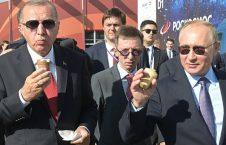 پوتین و اردوغان آیسکریم 3 226x145 - تصاویر/ آیسکریم خوردن پوتین و اردوغان