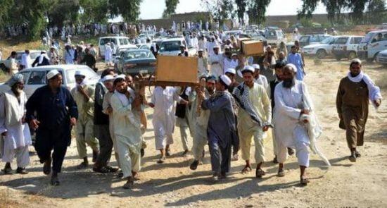 کشته 550x295 - از وعده تا عمل؛ کاهش کشته های خارجی ها و افرایش کشتار افغان ها