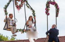 آنا ترابر 226x145 - برگزاری مراسم جشن ازدواج در ارتفاع ۳۳ متری + تصاویر