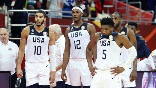 امریکا باسکتبال - باسکتبال امریکا در جایگاه هفتم جهان قرار گرفت