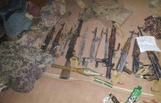 انبارمهمات طالبان 2 226x145 - تصاویری از انهدام بزرگترین انبار مهمات طالبان در غزنی