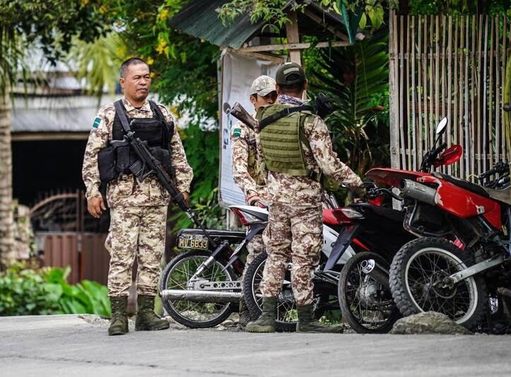 انفجار فیلیپین 1 - تصاویر/ وقوع یک انفجار خونین در فیلیپین