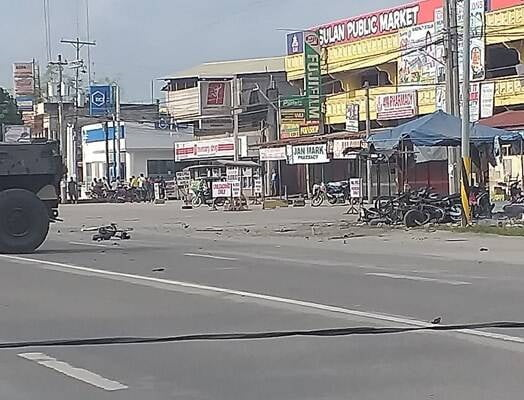انفجار فیلیپین 2 - تصاویر/ وقوع یک انفجار خونین در فیلیپین