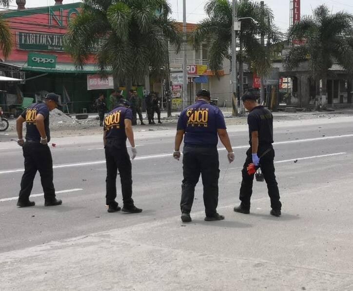 انفجار فیلیپین 3 - تصاویر/ وقوع یک انفجار خونین در فیلیپین
