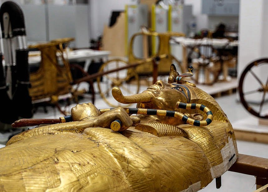 تابوت طلایی 3 - تصاویر/ تابوت طلایی فرعون