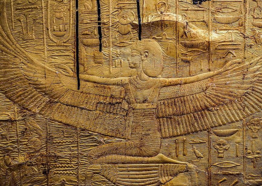تابوت طلایی 4 - تصاویر/ تابوت طلایی فرعون
