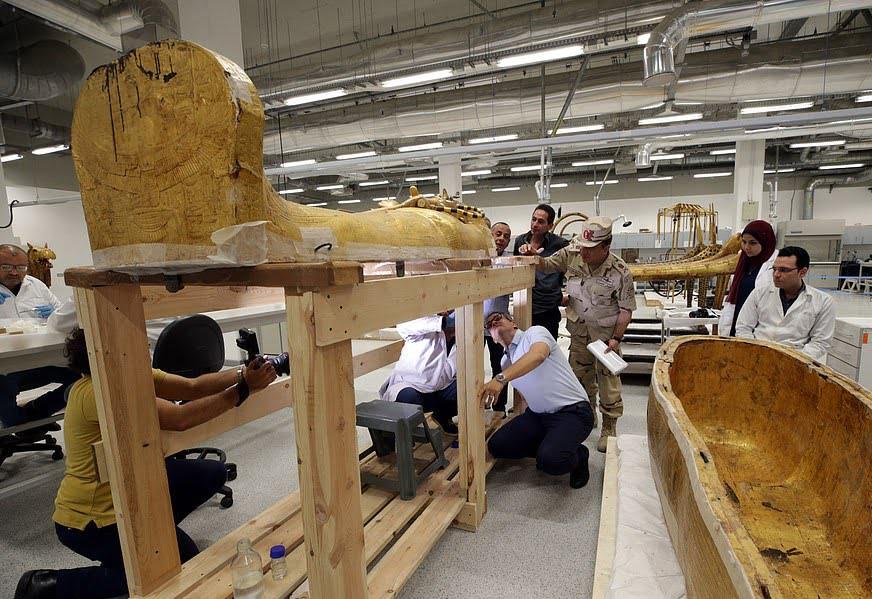 تابوت طلایی 7 - تصاویر/ تابوت طلایی فرعون