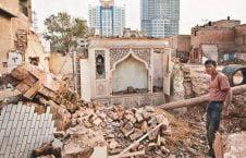 تخریب مساجد 2 226x145 - تخریب مساجد و مکان های مذهبی مسلمانان بدست حکومت چین