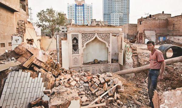 تخریب مساجد 2 - تخریب مساجد و مکان های مذهبی مسلمانان بدست حکومت چین