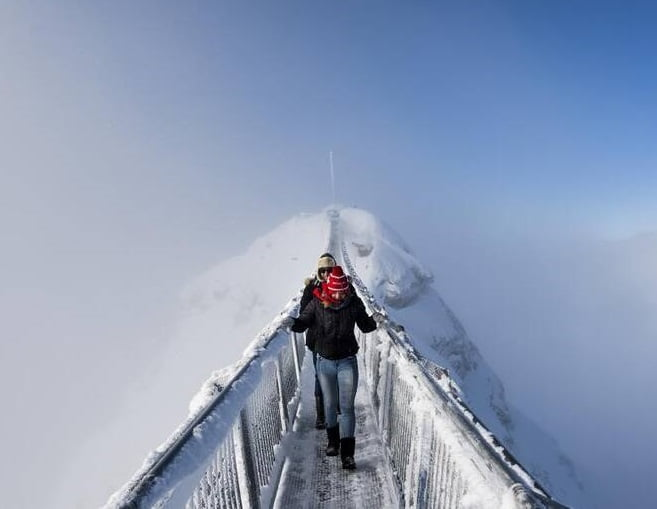 ترسناکترین پل جهان - تصویر/ ترسناکترین پل معلق جهان