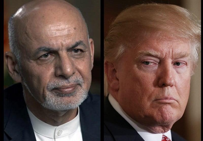 ترمپ غنی - قطع کمک یکصد ملیون دالری امریکا به افغانستان
