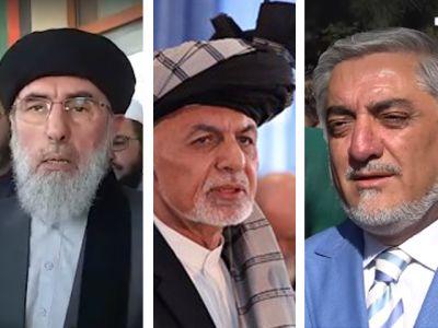 حکمتیار غنی عبدالله - اتهام زنی حکمتیار به رهبران حکومت