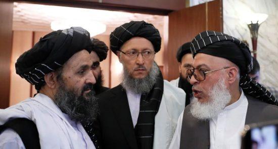 طالبان 550x295 - روسیه خواستار از سرگیری مذاکرات امریکا با طالبان شد