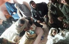 طفل کشته 226x145 - جان باختن سه طفل بر اثر راکت پرانی پاکستان