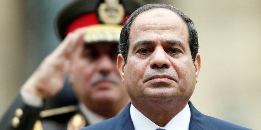 عبدالفتاح السیسی - تجمع اعتراض آمیز در برابر هوتل محل اقامت رییس جمهور مصر در نیویارک