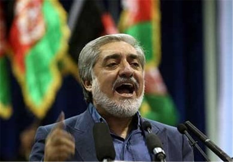 عبدالله عبدالله - عبدالله عبدالله: لکه ننگ تقلب را از دامن مردم افغانستان برمی داریم