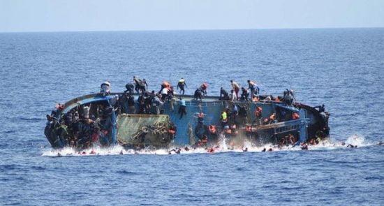 غرق 550x295 - افزایش شمار قربانیان حادثه غرق شدن کشتی مهاجرین در ترکیه
