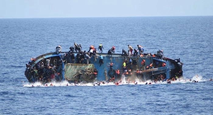 غرق - کشتی مهاجرین غیرقانونی درآبهای یونان غرق شد