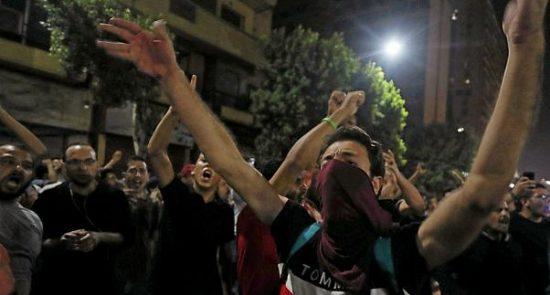 مصر تظاهرات 550x295 - بازداشت بیش از 650 معترض در مصر