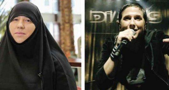 ملانی جورجیادیز 550x295 - دگرگون شدن زنده گی خواننده زن عیسوی مشهور پس از مسلمان شدن