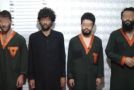 ملا سردار - اعلامیه امنیت ملی در پیوند به دستگیری ولسوال نامنهاد طالبان برای ولسوالی کلکان کابل