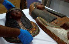 مومیایی مصر 5 226x145 - تصاویر/ مومیایی های صاحب منصبان مصر باستان