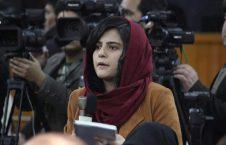نجوا عالی 226x145 - کسب یک جایزه بین المللی توسط بانوی خبرنگار افغان