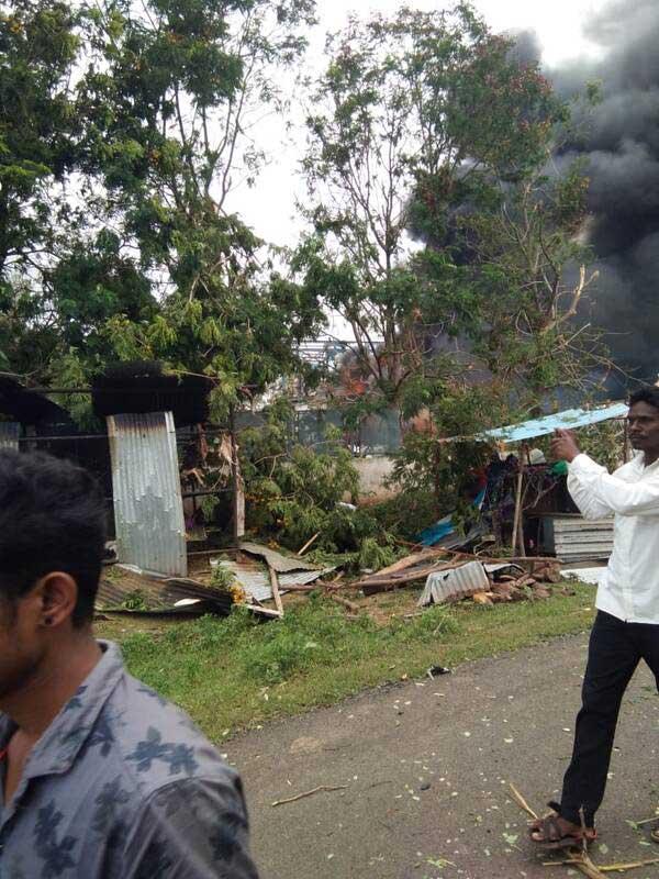 هند انفجار 1 - تصاویر/ انفجار خونین در هند