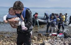 پناهجو 226x145 - آواره گی 25 هزار تن از پناهجویان در جزایر یونان