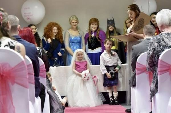 ازدواج دختر سرطان 3 - دختری که با پسر 6 ساله ازدواج کرد