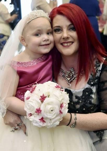ازدواج دختر سرطان 4 - دختری که با پسر 6 ساله ازدواج کرد