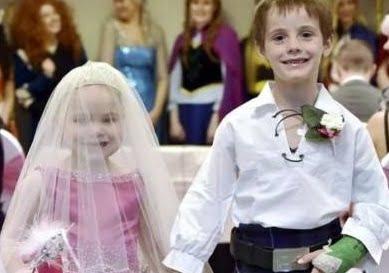 ازدواج سرطان - دختری که با پسر 6 ساله ازدواج کرد