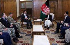 اشرف غنی مارک اسپر 226x145 - دیدار رییس جمهور غنی با وزیر دفاع ایالات متحدۀ امریکا