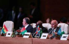 اشرف غنی 1 226x145 - اشرف غنی: کاهش نیروهای خارجی بستگی به پذیرفتن صلح توسط طالبان و حامیانشان دارد