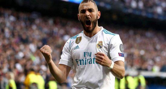 بنزما 550x295 - معرفی کریم بنزما به حیث بهترین بازیکن ماه باشگاه ریال مادرید
