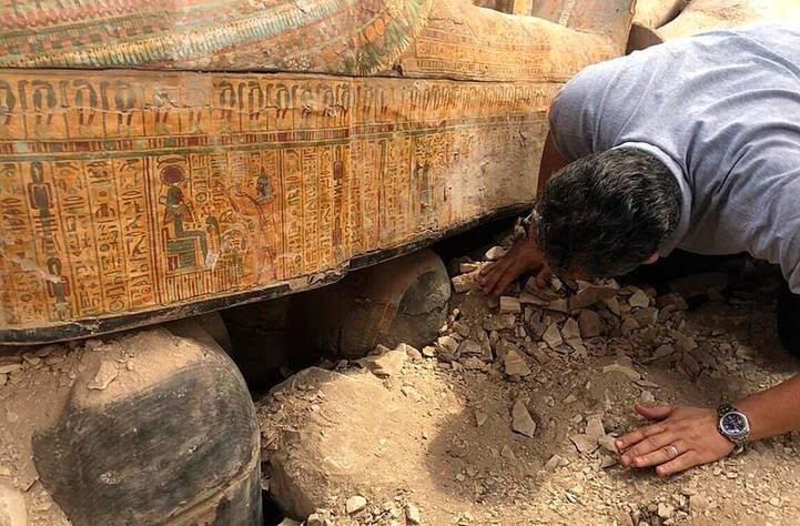 تابوت2 - تصاویر/ بزرگ ترین کشف آثار باستانی مصر