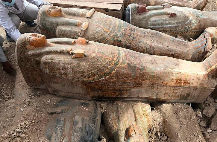 تابوت3 - تصاویر/ بزرگ ترین کشف آثار باستانی مصر