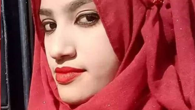 دختر بنگله دیش - آزار جنسی و قتل یک دختر نوجوان توسط مدیر مکتب