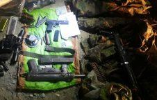 سلاح داعش 226x145 - بازداشت مسوول اکمالاتی گروه داعش در ولایت ننگرهار + تصاویر