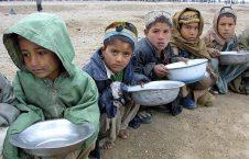 طفل 226x145 - آمار تکان دهنده یونیسف از شمار کودکان مبتلا به سوءتغذیه در افغانستان
